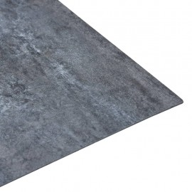 Lamas para suelo autoadhesivas PVC mármol gris 5,11 m²