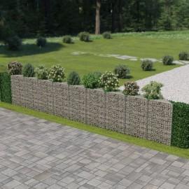 Muro de gaviones de acero 630x30x100 cm