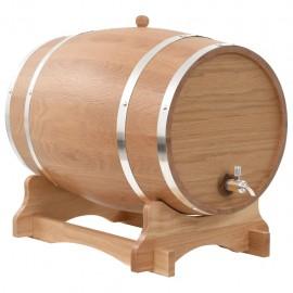 Barril de vino con grifo roble macizo 35 L