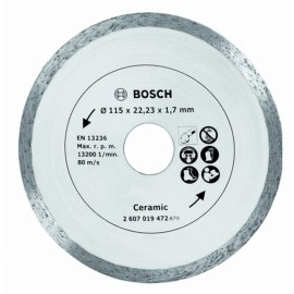 Disco Corte Porcelanico  115 Mm Diamante  Bosch