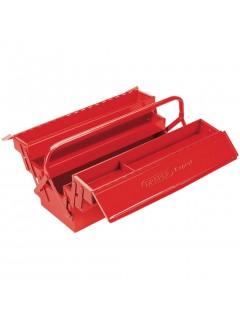 Draper Tools Caja de herramientas desplegable expertos rojo 53x20x21cm