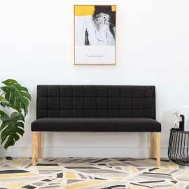 Banco de tela negro 140 cm