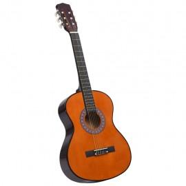 """Guitarra clásica niños y principiantes madera de tilo 3/4 36"""""""