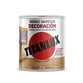 Barniz Madera Brillante 750 Ml Nogal Sint Decoracion Interior/Exteri