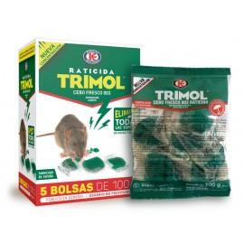 Raticida Cebo Fresco Trimol D01.474 500 Gr