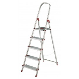 Escalera Domestica 1,01Mt Tijera Rolser Alu Ro Norma 220 Nor038