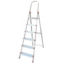 Escalera Domestica 1,22Mt Tijera Rolser Alu Ro Norma 220 Nor039