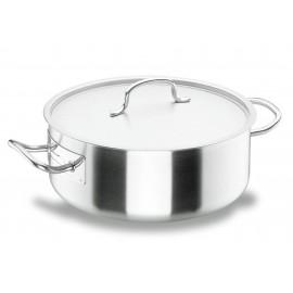 Cacerola Cocina 32Cm C/Tapa In. Inox Chef Lacor