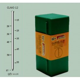 Clavo Clavadora Neumaticaatica  F18/50Rn F18/57Vm 1,24X20Mm 1,2Mm