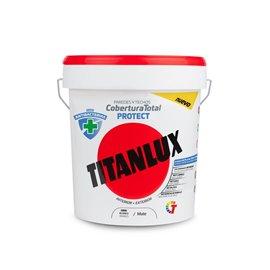Pintura Plastica Mate 4 Lt Bl Int/Ext Antibacterias Cob. Tot. P