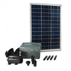 Ubbink Conjunto SolarMax 1000 con panel solar, bomba y batería 1351182