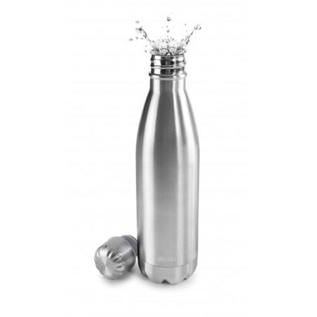 Termo Liquidos 350Ml Botella Met Sat Ibili