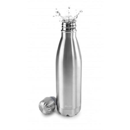 Termo Liquidos 500Ml Botella Met Sat Ibili
