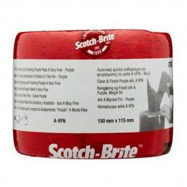 Estropajo Limp 150Mmx115Mm Alu Rollo Clean Finish Scotch-Bri