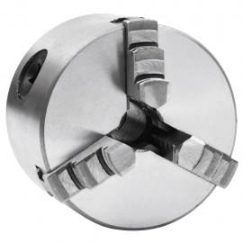 Mandril de torno autocentrante de 3 mordazas 80 mm acero