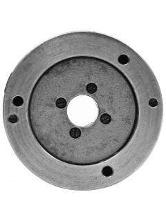 Mandril de torno autocentrante de 4 mordazas 80 mm acero