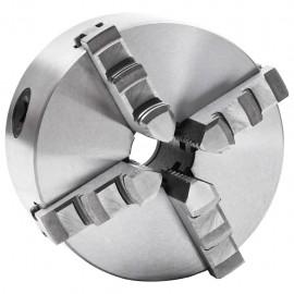 Mandril de torno autocentrante de 4 mordazas 125 mm acero