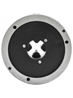 Mandril de torno autocentrante de 4 mordazas 160 mm acero