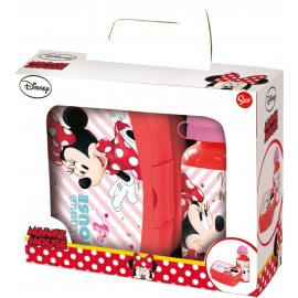 Kit Infantil 2 Piezas Minnie Mouse Stor 1 Pz