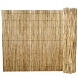 Valla de cañizo de junco de jardín 500x100 cm