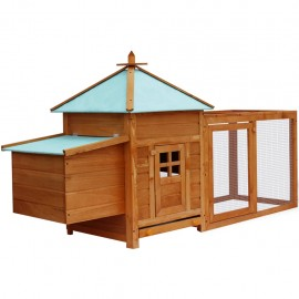 Gallinero de exterior de madera
