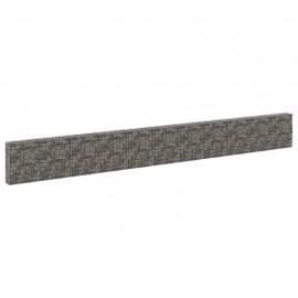 Muro de gaviones con cubiertas acero galvanizado 900x30x100 cm