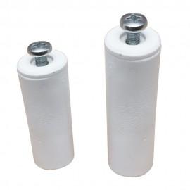 Tope Persiana 40Mm Tornillo Metalico Plastico Bl Micel