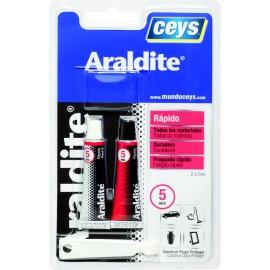 Adhesivo Epoxy Rapido 5+5 Ml 5Minutos Araldit Ceys