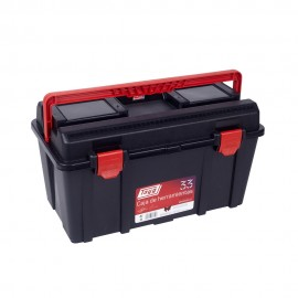 Caja Herramientas 480X258X255Mm Banddeja/Estuche Polipropileno Negro Nº33 Tayg