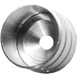 Casquillo Tubo Armario 16 Mm. Niquel Micel