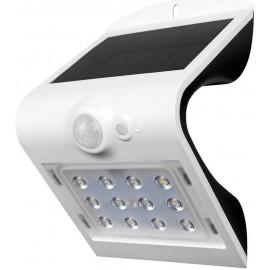 Aplique Ilumin Solar 1,5W 220Lm 4000K Ip65 Ext. Par Polic Bl