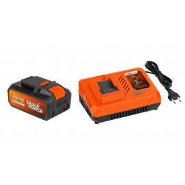 Cargador Bat 20V/40V + Bat.2,5Ah/40V Powerplus