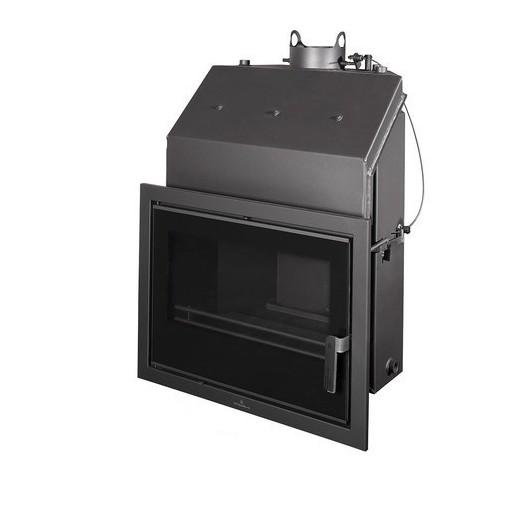 Insertable Hydro 24 Kw Con Cristal Serigr. Negro Y Cajón Por Fuera