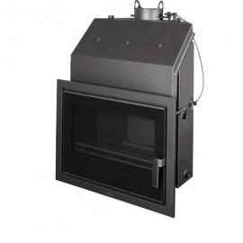 Insertable Hydro 22 Kw Con Cristal Serigr. Negro Y Cajon Por Fuera  Modelo Hydrobronpi-60-E-V