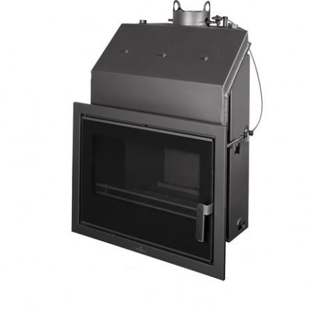 Insertable Hydro 22 Kw Con Cristal Serigr. Negro Y Cajón Por Fuera