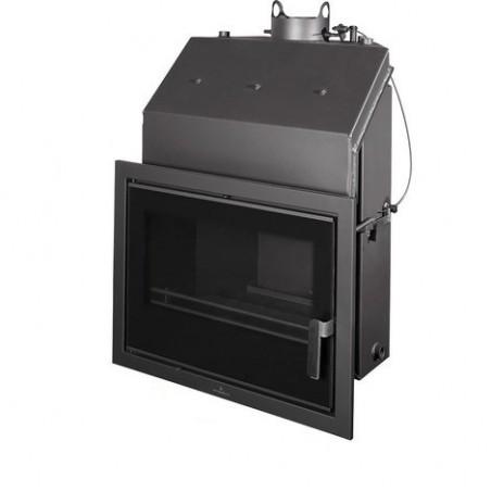 Insertable Hydro 27 Kw Con Cristal Serigr. Negro Y Cajon Por Fuera  Modelo Hydrobronpi-80-E-V