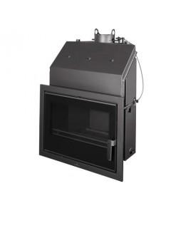 Insertable Hydro 27 Kw Con Cristal Serigr. Negro Y Cajón Por Fuera