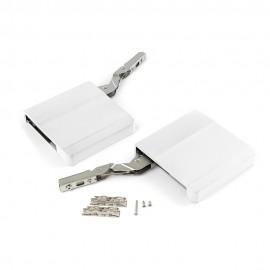 Compás para puerta elevable Agile  L color blanco