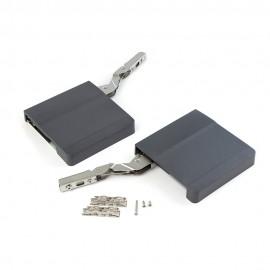 Compás para puerta elevable Agile  L color gris antracita