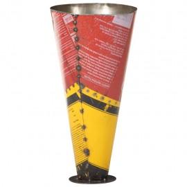 Paragüero de hierro multicolor 29x55 cm