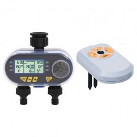 Temporizador de agua digital con doble salida y sensor de humedad