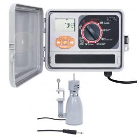 Controlador de riego de agua para jardín con sensor de humedad
