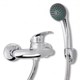 Kit de grifo mezclador para ducha de baño cromado