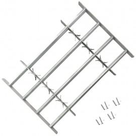 Reja de seguridad ajustable cuatro travesaños ventanas 1000-1500mm