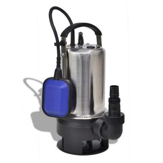Bomba sumergible de agua sucia 1100 W 16500 L/h