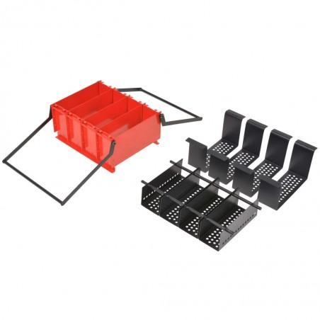 Prensa para hacer briquetas con papel 38x31x18 cm acero