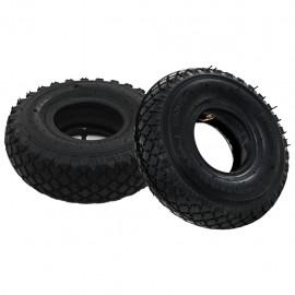 Neumáticos con cámaras internas carretilla 2 uds 3.00-4 260x85