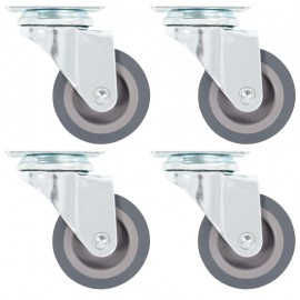 Ruedas giratorias 4 unidades 50 mm