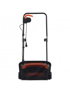 Rastrillo eléctrico de césped 20 L 400 W