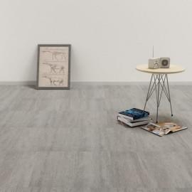Lamas para suelo de PVC autoadhesivas gris punteado 5,11 m²
